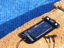 Overboard Waterproof Smart Phone case Iphone Blackberry HTC Desire Samsung BLACK