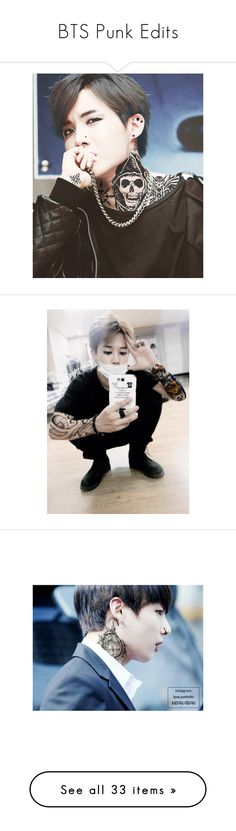 """BTS Punk Edits"" by housexofxcards ❤ liked on Polyvore"