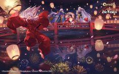 Inuyasha Fan Art, Inuyasha And Sesshomaru, Kagome And Inuyasha, Kagome Higurashi, Seshomaru Y Rin, Drawn Art, Anime Life, Animes Wallpapers, Game Art