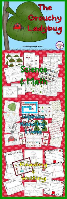unit on the Grouchy Ladybug... freebie lifecycle sheet in preview download