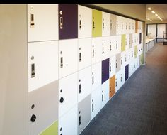 Front-of-office application for HAMILTON lockers with digital locks at JP Morgan Chase