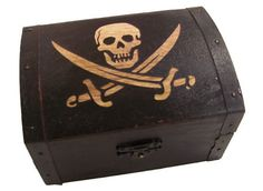 pirate treasure chests - Google Search [ideas for how to stage/prop the party]