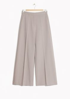 & Other Stories | High-waisted Wide-Leg Trousers