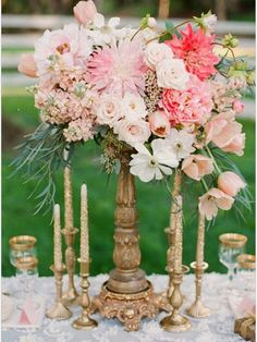 22 Spectacular Floral Wedding Centerpieces for Every Bride - Valentina Glidden Photography