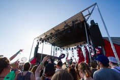 Atlas Genius performs at Hangout Music Festival 2016 | Photo by Rinn Garlanger