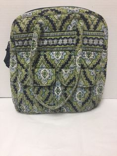 c7f9a014c0 Vera Bradley Cambridge Backpack Blue Green White  VeraBradley  Backpack Vera  Bradley Purses