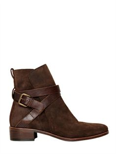 SEE BY CHLOE / 30MM LEATHER ANKLE BOOTS