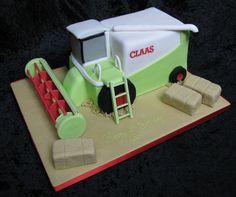 Combine Harvester cakepins.com