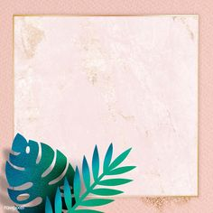 Blank square leafy golden frame | premium image by rawpixel.com / Adj #picture #photography #inspiration #photo #art #frame #leaves Tropical Frames, Tropical Background, Square Logo, Frame Background, Backgrounds Free, Royalty Free Images, Cute Art, Paper Texture, Backdrops