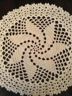 Chrochet, Knit Crochet, White Acrylics, Crochet Doilies, Macrame, Tatting, Needlework, Diy And Crafts, Centerpieces