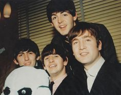 Paul McCartney, George Harrison, Richard  Starkey, and John Lennon