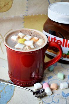 Chocolate caliente con nutella | Madeleine Cocina