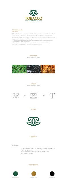 TOBACCO Garden Bar /Logo on Behance