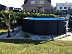 INTEX Pool 2020 - YouTube Cheap Above Ground Pool, Intex Above Ground Pools, Above Ground Pool Landscaping, Above Ground Swimming Pools, In Ground Pools, Swimming Pool Landscaping, Small Backyard Pools, Swimming Pools Backyard, Swimming Pool Designs