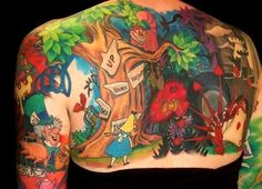 colourful disney #tattoo