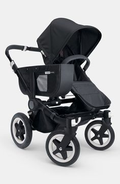 Bugaboo 'Donkey - All Black' Stroller available at #Nordstrom