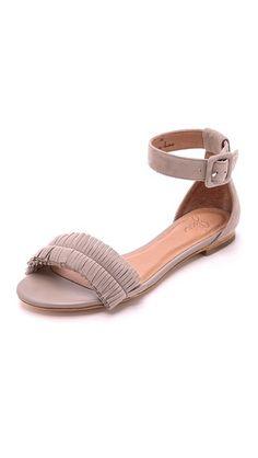 Joie Ferris Suede Flat Sandals