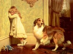 Charles Burton Barber Paintings-A Special Pleader