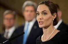 Angelina Jolie Reveals She Had Preventative Double Mastectomy - #PinkRibbon #BreastCancerAwareness