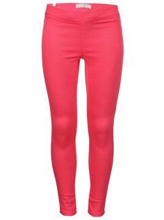 Tmavě růžové holčičí kalhoty name it Fanja