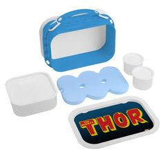 The Mighty Thor Logo Lunch Box #Ad , #Sponsored, #Logo, #Lunch, #Box, #Shop,