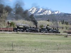 463 & 488 CHAMA to ANTONITO Locomotive Engine, Steam Locomotive, Train Car, Train Tracks, Scenic Train Rides, Abandoned Train, Steam Railway, Old Trains, Land Of Enchantment