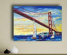 Hoi! Ik heb een geweldige listing op Etsy gevonden: https://www.etsy.com/nl/listing/228054708/sailboats-under-golden-gate-bridge-san
