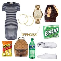 """""""Untitled #48"""" by deannaarmstrong on Polyvore featuring MICHAEL Michael Kors, Vans, Louis Vuitton and Michael Kors"""