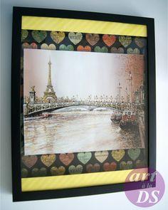 Scrapbook Paris Frame - Cadre Collimage Paris