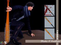 My Sims 4 Blog: The Walking Dead Bat by Karzalee