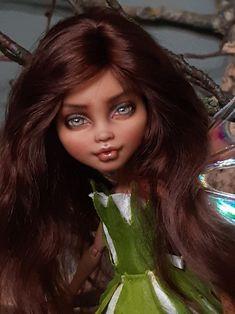 OOAK custom repaint Monster High Howleen Wolf doll Karya | Etsy Howleen Wolf, Tooth And Claw, New Growth, Custom Dolls, Monster High, Wigs, Fairy, Etsy, Beautiful