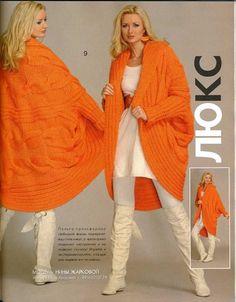 Zhurnal MOD Fashion Magazine 542 Russian knit and crochet patterns