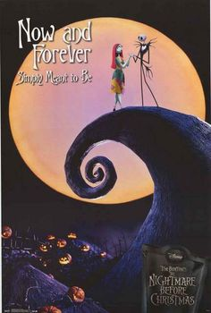 Nightmare Before Christmas Now and Forever Poster 22x34 – BananaRoad