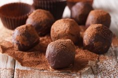 Brazil Nut Truffles: Gain your daily dose of selenium with this thyroid-boosting Brazil nut truffle recipe!