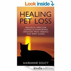 "Now available on Amazon: ""Healing Pet Loss: Practical Steps for Coping & Comforting Messages from Animals and Spirit Guides"" by Marianne Soucy"