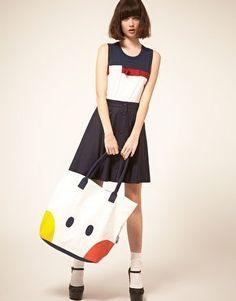 Peter Jensen Rabbit Shopper Bag