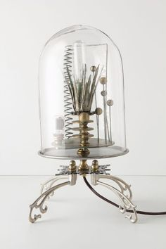 Kerplunk Bell Jar Lamp - anthropologie.com