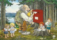 a postcard by Rolf Lidberg