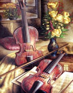 ZOOYA Full Square drill DIY Diamond embroidery still life of violin Diamond Painting Cross Stitch Rhinestone Mosaic decor Violin Art, Cello, Puzzle Art, Rose Pictures, 5d Diamond Painting, Music Artwork, Cross Paintings, Oil Paintings, Beautiful Images