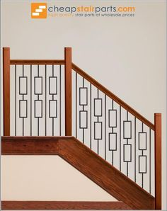 Ash Grey 16.6.7 Single Marquis Hollow Iron Baluster for Staircase Remodel