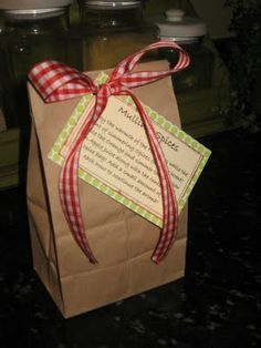 Mulling Spice Gift Bag