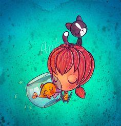 Cartoon Illustrations by Anita Mejia | Cuded