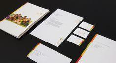 Corporate Design Briefbogen Mappe