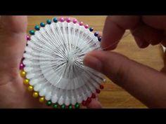 Crochet scrubbies learn how to crochet the sugar plum baby dress newborn size tutorial 319 Teneriffe, Treble Crochet Stitch, Crochet Motif, Crochet Ball, Crochet Socks, Needle Lace, Bobbin Lace, Learn To Crochet, Easy Crochet