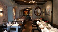 steinbock thun by raumforum Restaurant Design, Interior Inspiration, Table Settings, Capricorn, Stones, Place Settings