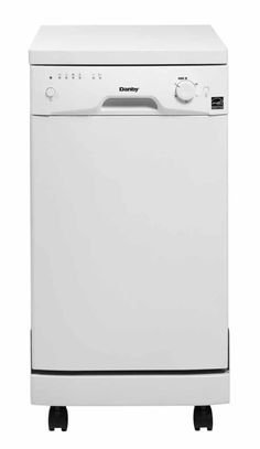 Danby 18 Inch Energy Star Rated Portable Dishwasher With 8 Place Settings, 6 Wash Cycles, Durable Stainless Steel Spray Arm And Interior, Built-In Water Softener, And Silverware Basket: White Drawer Dishwasher, Countertop Dishwasher, Portable Dishwasher, Black Dishwasher, Integrated Dishwasher, Stainless Steel Dishwasher, Countertops, Martha Stewart