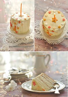 Lemon layer cake - wedding cake