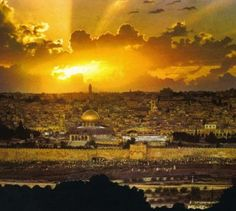 The Holy Land. To be baptized in the Jordan like Jesus would be beyond amazing!