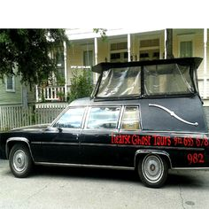 Why you need to see Savannah from the back of a hearse