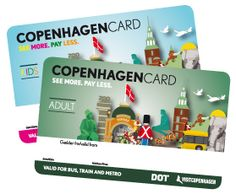 Copenhagen Card Free admission to 73 museums and attractions Free public transport by bus, train and Metro